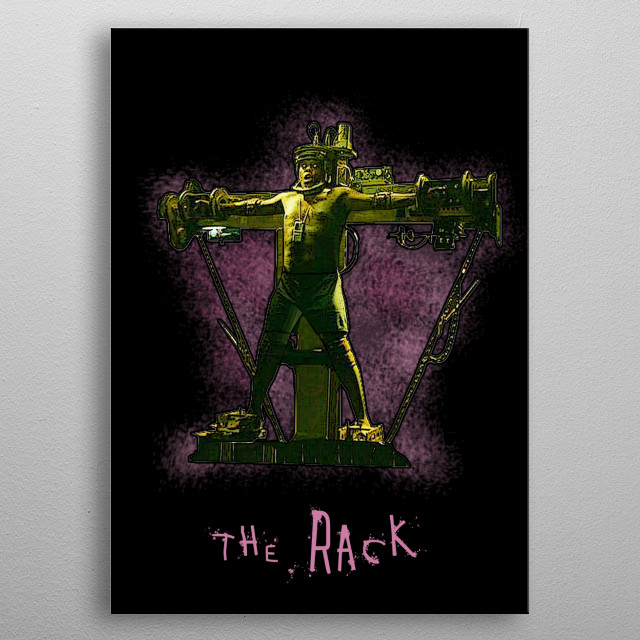 SAW - The Rack metal poster