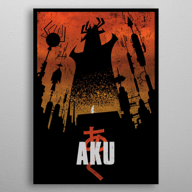 Akaiju metal poster