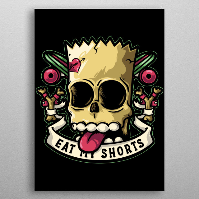 High-quality metal print from amazing Tv collection will bring unique style to your space and will show off your personality. metal poster