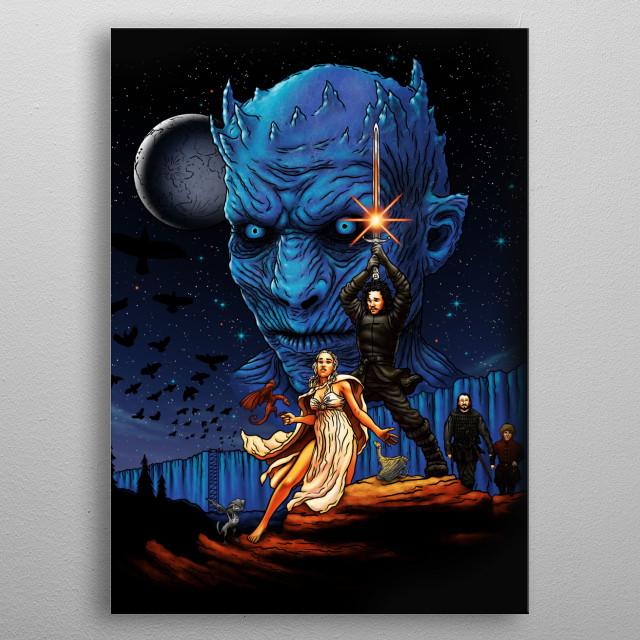 Throne Wars metal poster