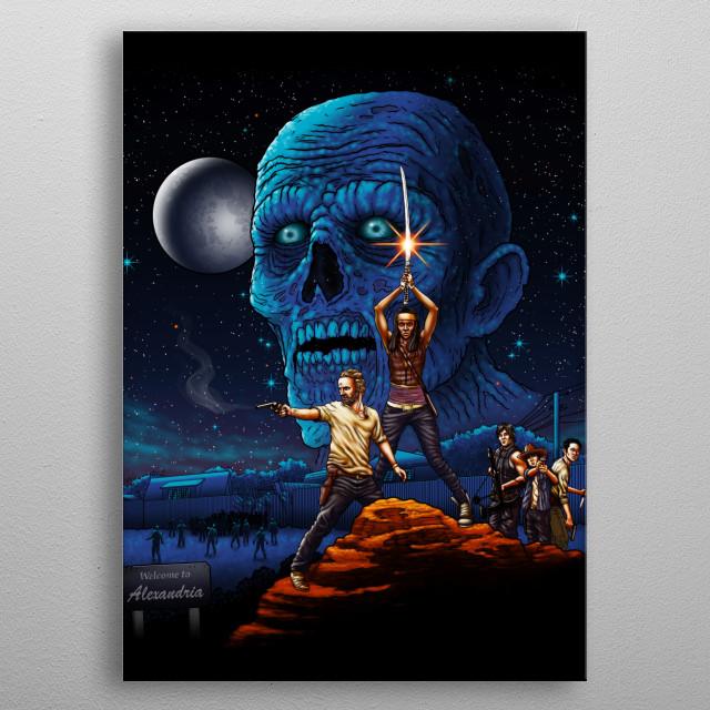 Dead Wars metal poster