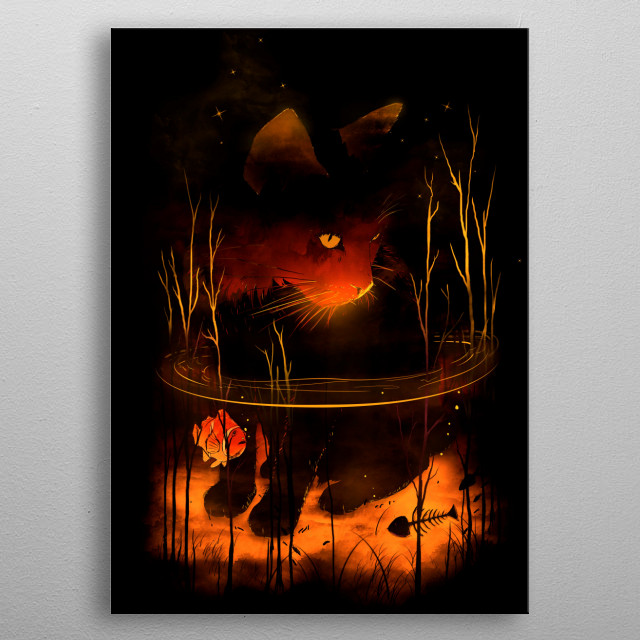 CatFish metal poster