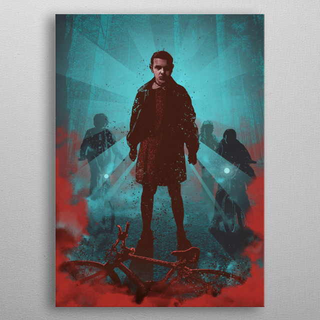 Eleven metal poster