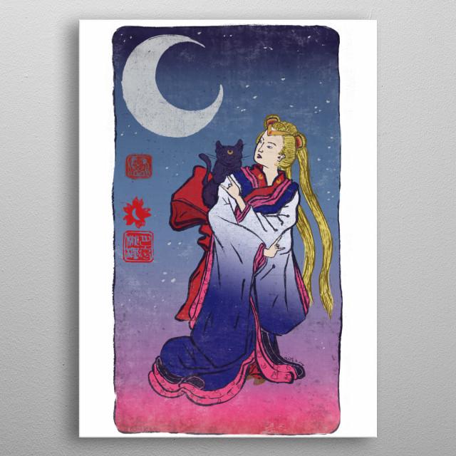 Sailormoon metal poster