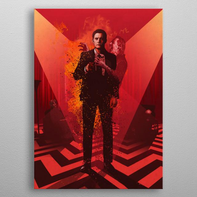 Dale Cooper metal poster