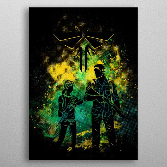 Firefly art metal poster