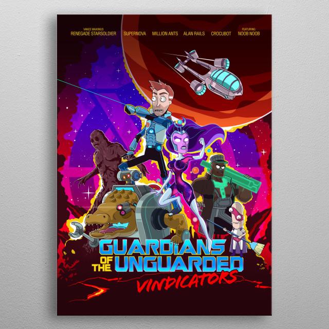 vindicators metal poster
