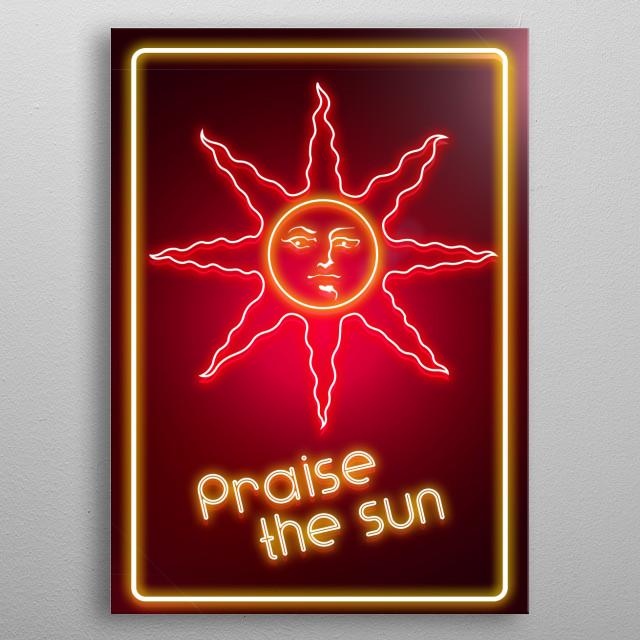 Sunlight metal poster
