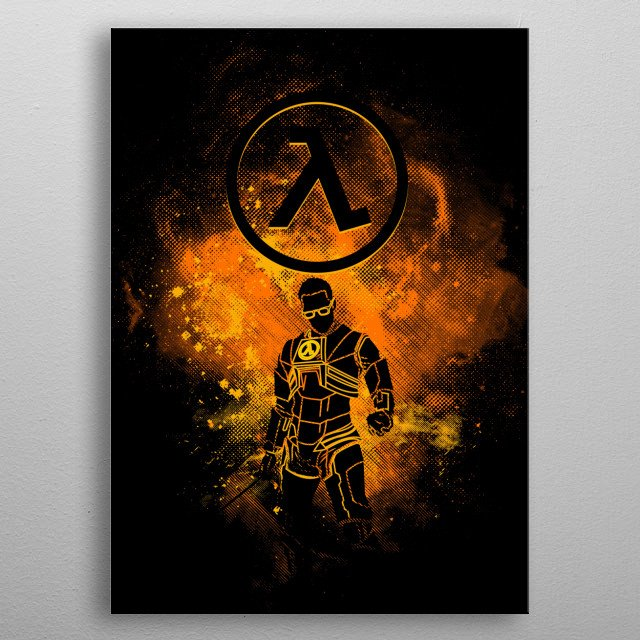 Freeman Art metal poster
