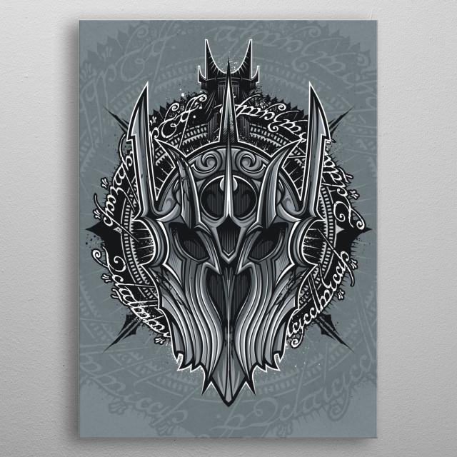 Saulord metal poster