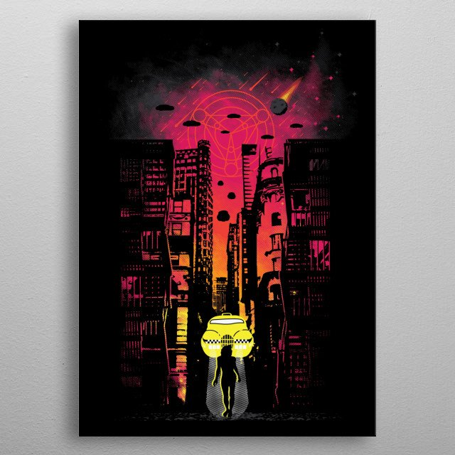 High-quality metal wall art meticulously designed by daletheskater would bring extraordinary style to your room. Hang it & enjoy. metal poster