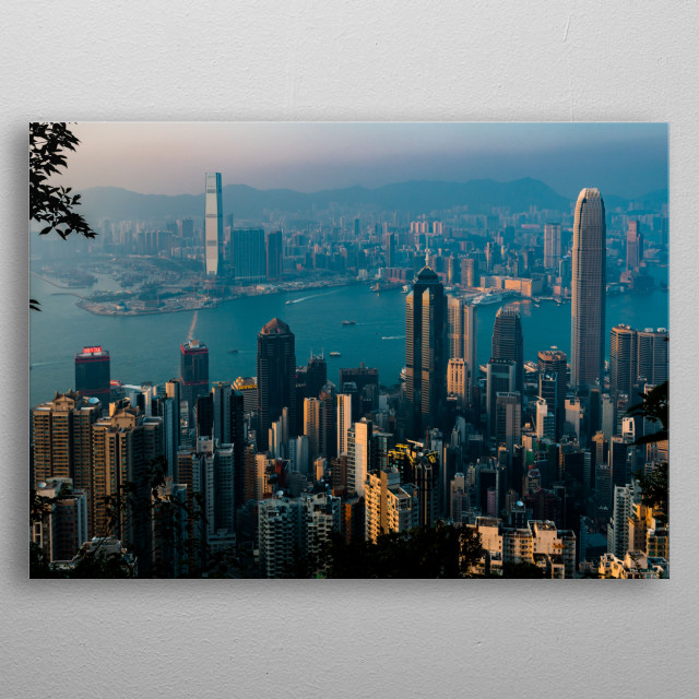 A Fragrant Harbour metal poster