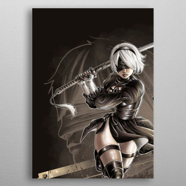 The Weight of the World metal poster