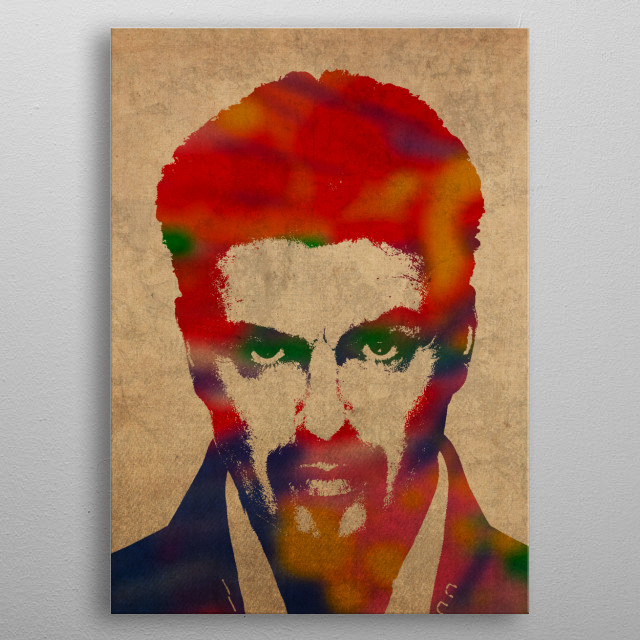 High-quality metal print from amazing Portraits In Watercolor collection will bring unique style to your space and will show off your personality. metal poster