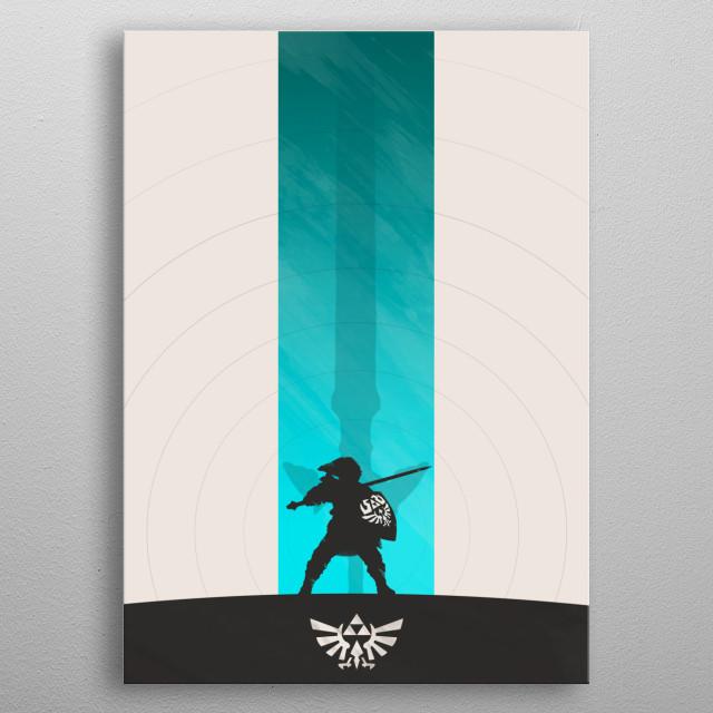 Skyward Sword metal poster