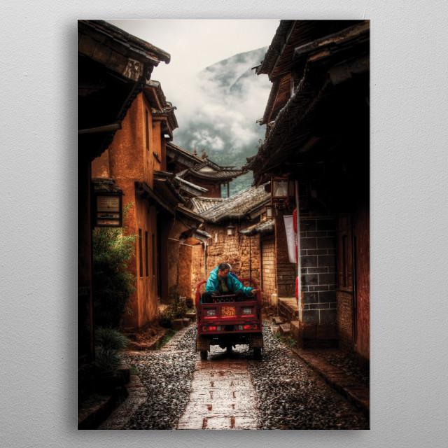 Shaxi metal poster