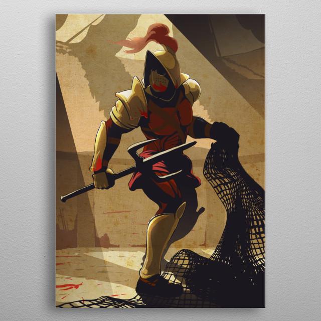 The Gladiator metal poster