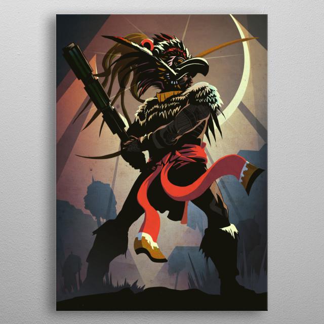 The Aztec metal poster