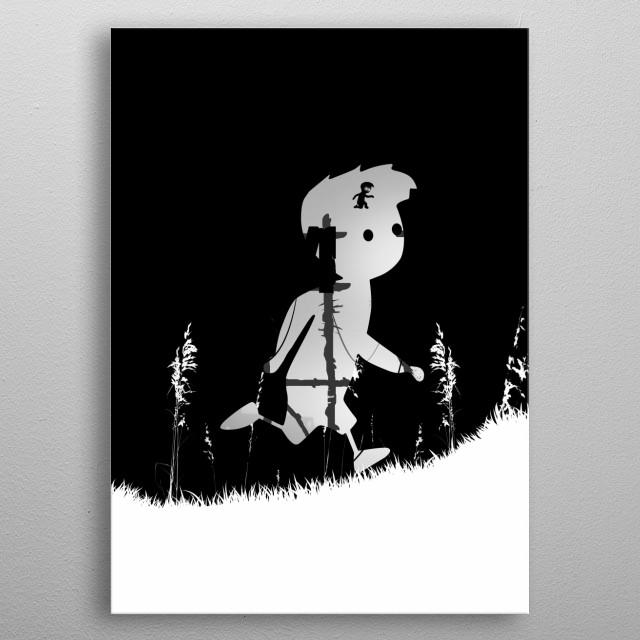 Limbo game poster  metal poster