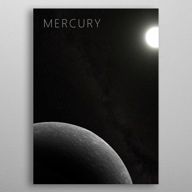 Mercury - The God of Thievery metal poster