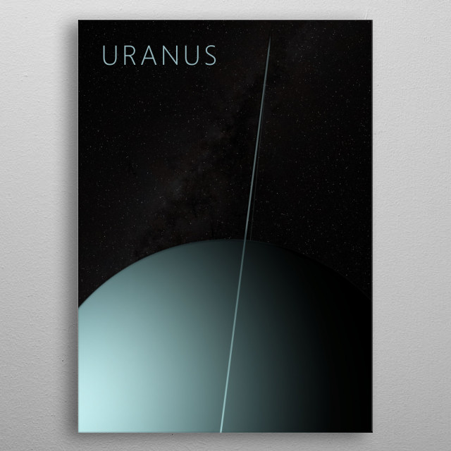 High-quality metal print from amazing Solar System collection will bring unique style to your space and will show off your personality. metal poster