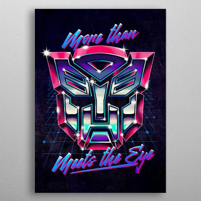 Fascinating metal poster designed by Anthony Brian Villafuerte. Displate has a unique signature and hologram on the back to add authenticity to each design. metal poster