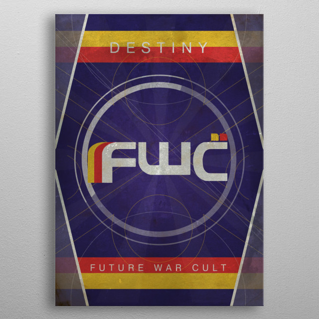 Future War Cult metal poster
