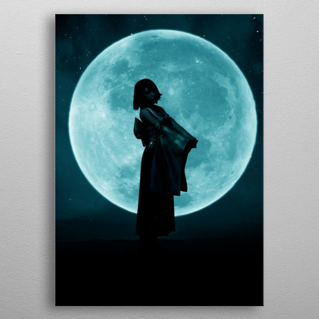 High-quality metal print from amazing Color Moon Hero collection will bring unique style to your space and will show off your personality. metal poster