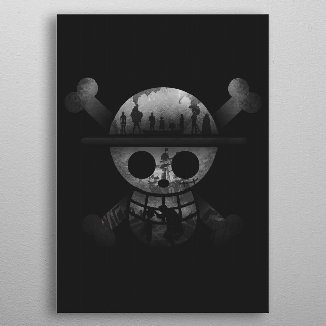 Straw Hats Journey metal poster