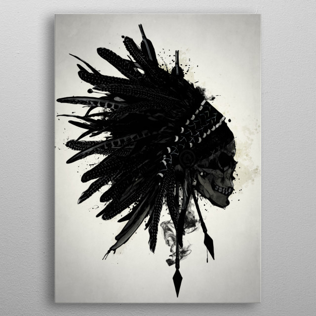 Fascinating metal poster designed by Nicklas Gustafsson. Displate has a unique signature and hologram on the back to add authenticity to each design. metal poster