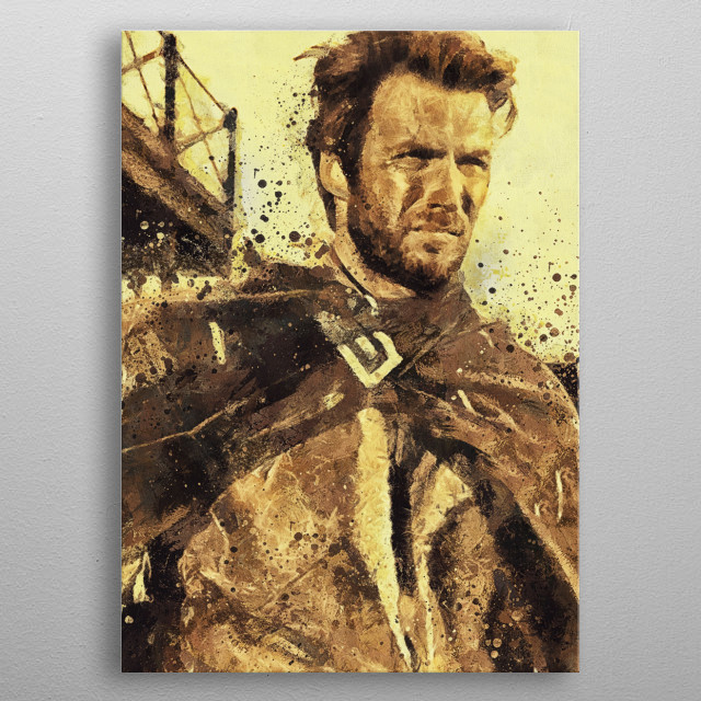Eastwood metal poster