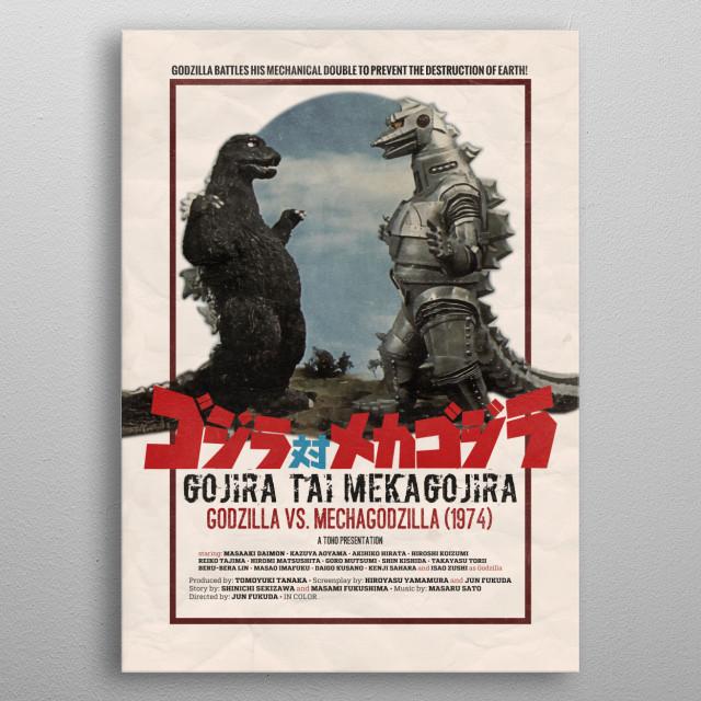 Mecha metal poster