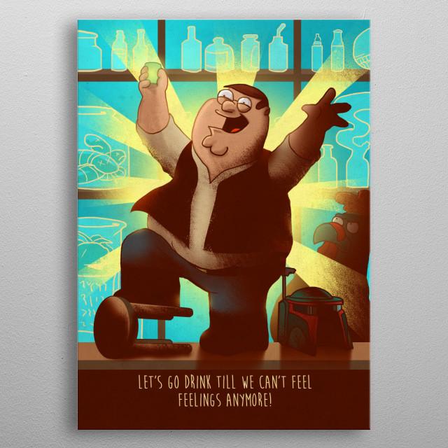 Peter metal poster
