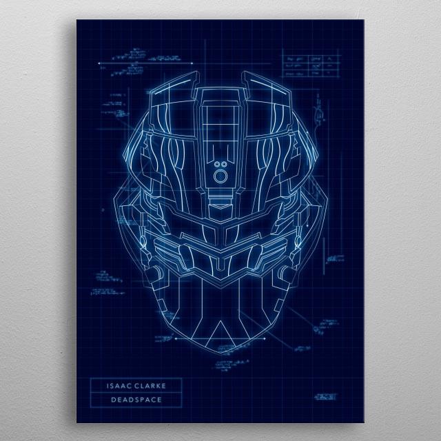 Isaac Clarke metal poster