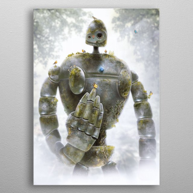 The Forgotten Soldier  metal poster