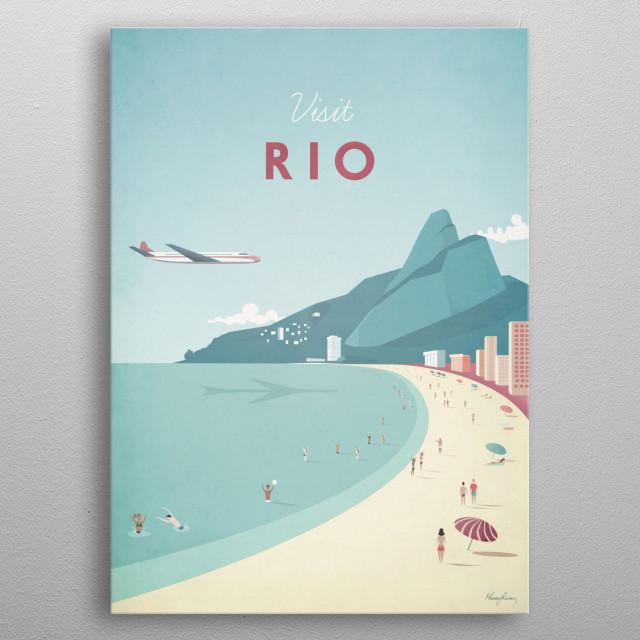 Rio metal poster