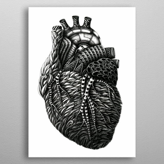 Fascinating  metal poster designed with love by Konahin. Decorate your space with this design & find daily inspiration in it. metal poster
