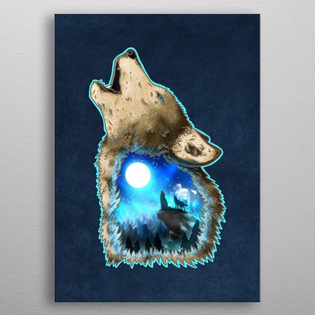 Moon Worshipers metal poster