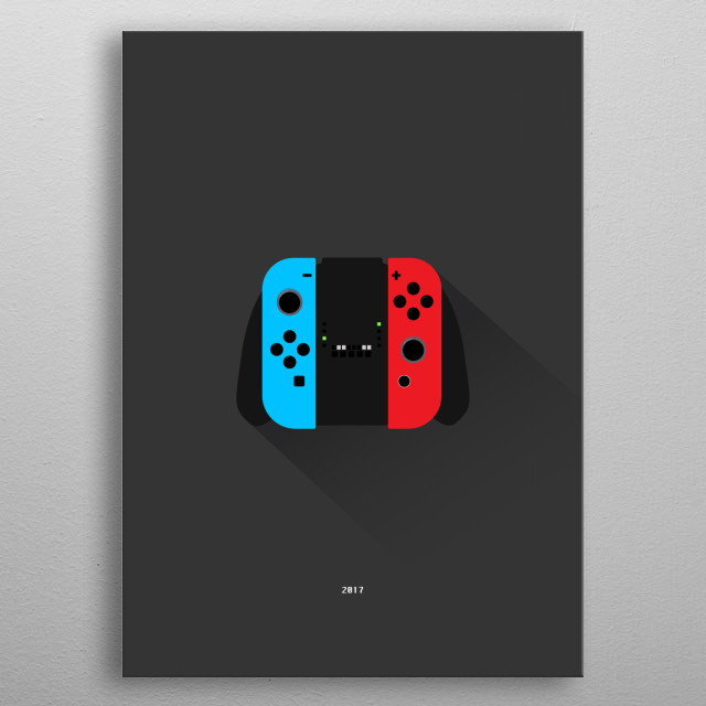 Switch metal poster