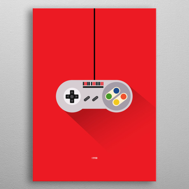 High-quality metal print from amazing Cult Console Controllers collection will bring unique style to your space and will show off your personality. metal poster