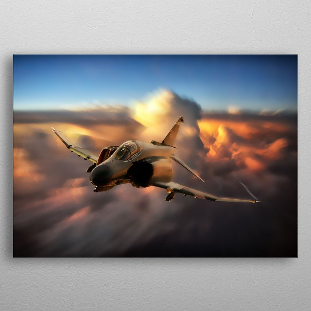 Fascinating  metal poster designed with love by airpowerart. Decorate your space with this design & find daily inspiration in it. metal poster