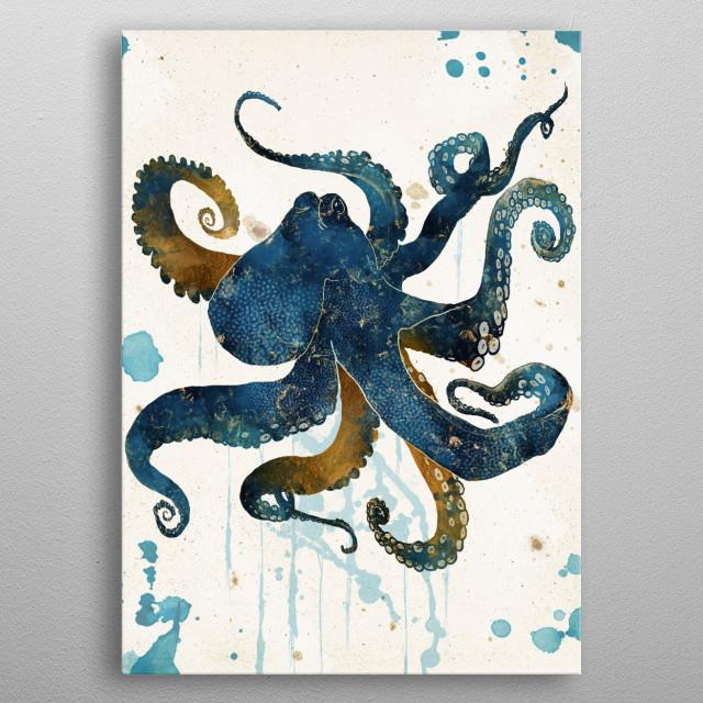 Underwater Dream III metal poster