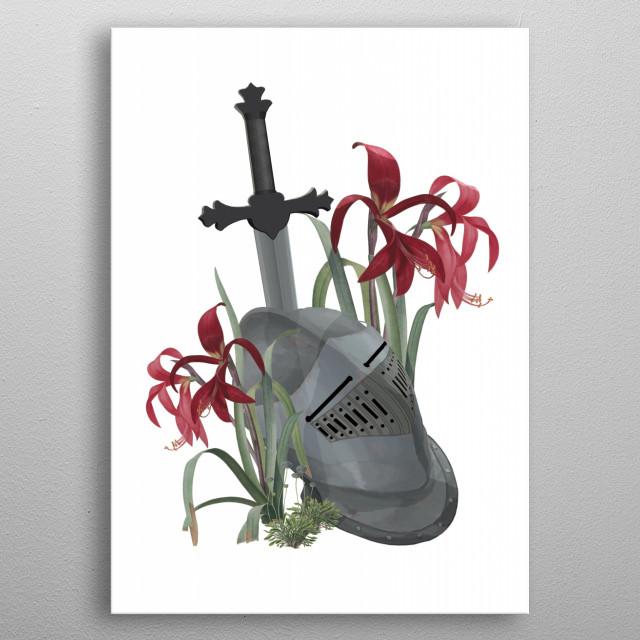 The Fallen metal poster