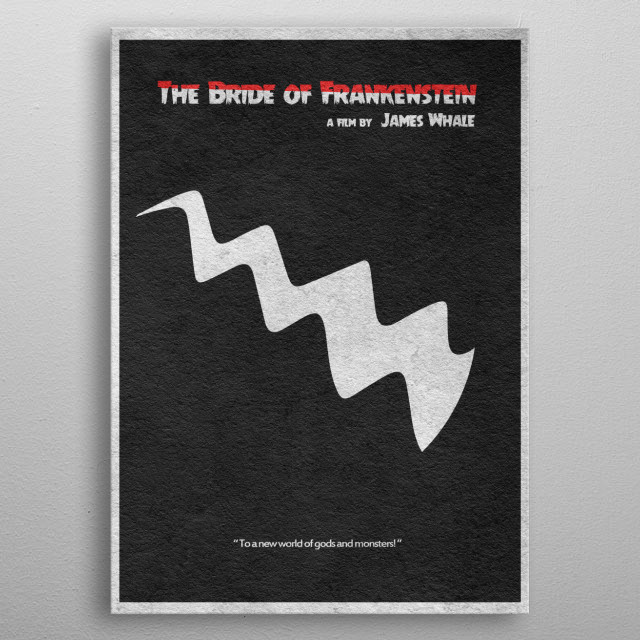 High-quality metal print from amazing Minimalist Movie Posters collection will bring unique style to your space and will show off your personality. metal poster