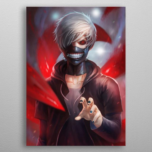 The Black Reaper by Nopeys metal poster
