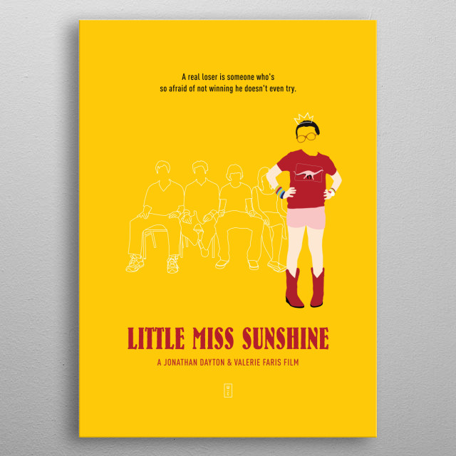 High-quality metal print from amazing Minimalist Movie Poster collection will bring unique style to your space and will show off your personality. metal poster