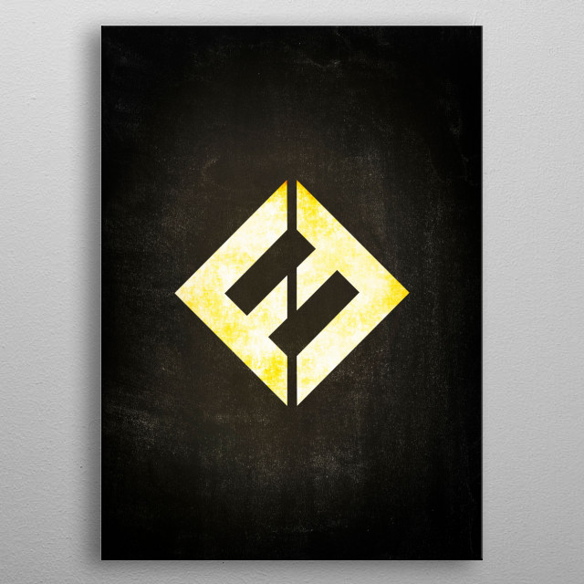 Concrete And Gold - Foo Fighters metal poster