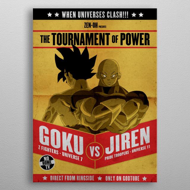 - When universes clash - metal poster