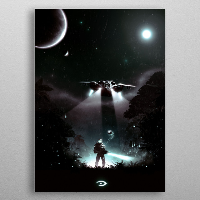 Well Enough Alone  V2.0 metal poster