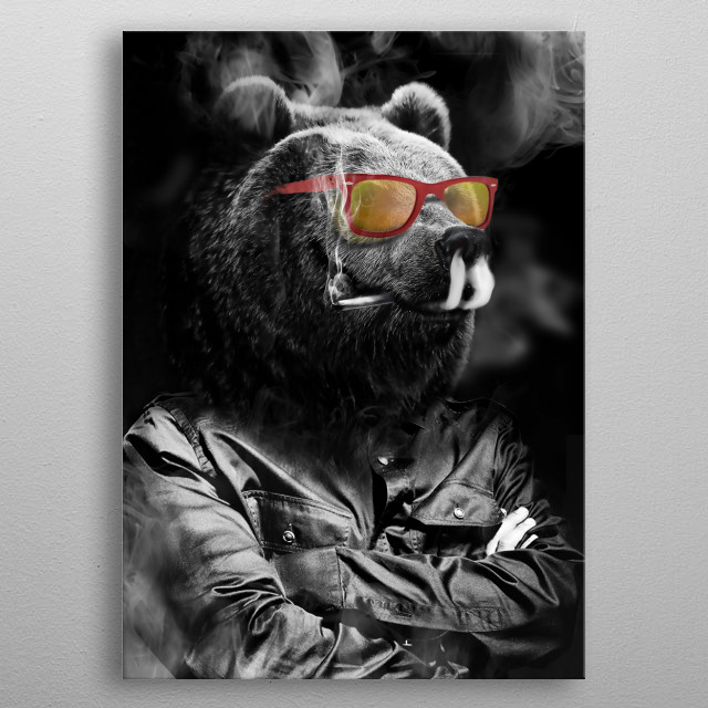 Fascinating  metal poster designed with love by migs. Decorate your space with this design & find daily inspiration in it. metal poster